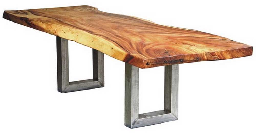 U-Form Stahl Tischgestell