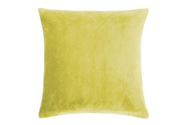 Smooth Kissenhülle 50_50 cm mustard