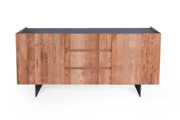 Sideboard massiv Teakholz b 167 cm