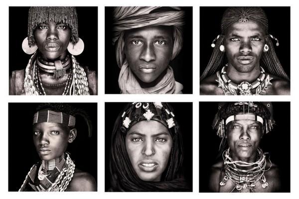 6er Set Kissen African Tribes