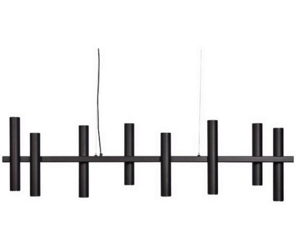 Hängelampe Stelvio schwarz B 140 cm