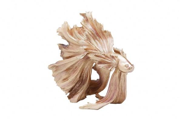 Dekofigur Fisch rosegold