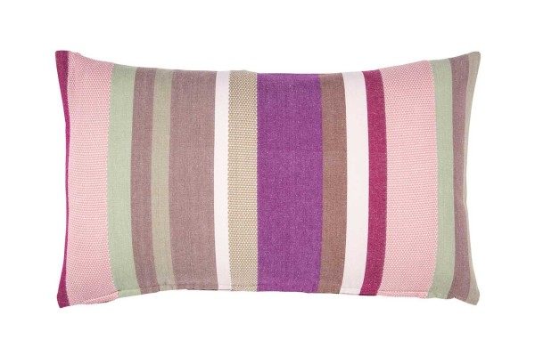 Pure Kissenhülle pink gestreift B 60 cm