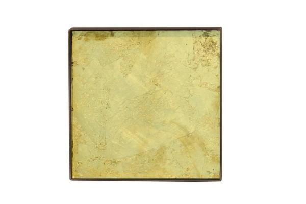 Notre Monde Tablett Gold Leaf 16 cm