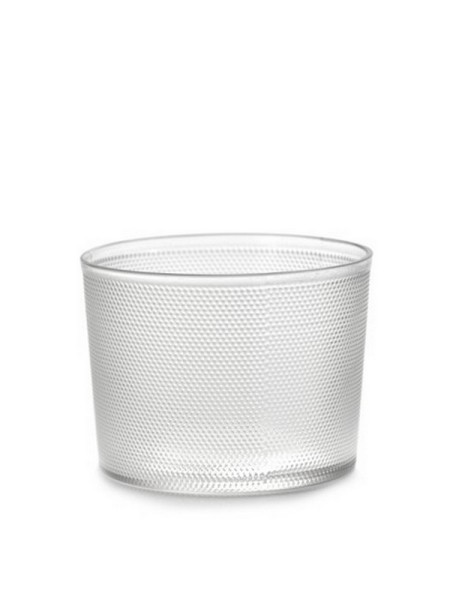 Trinkglas Merci halbtransparent Ø 8,2 cm