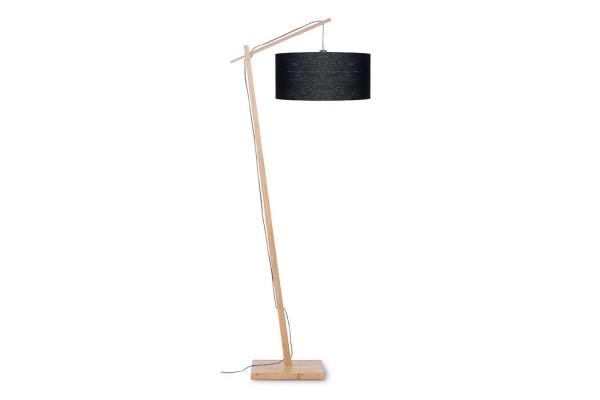 Stehlampe Andes Bambus natur schwarz H 176