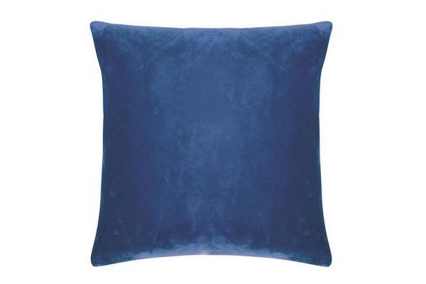 Smooth Kissenhülle 50_50 cm blau