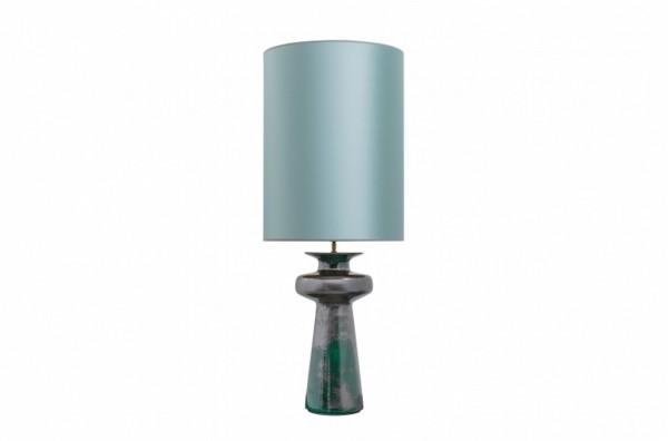 Stehlampe blau h 117 cm