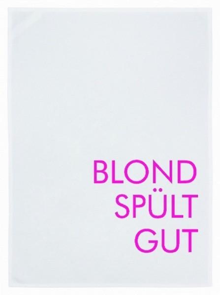 Geschirrtuch Blond spült gut
